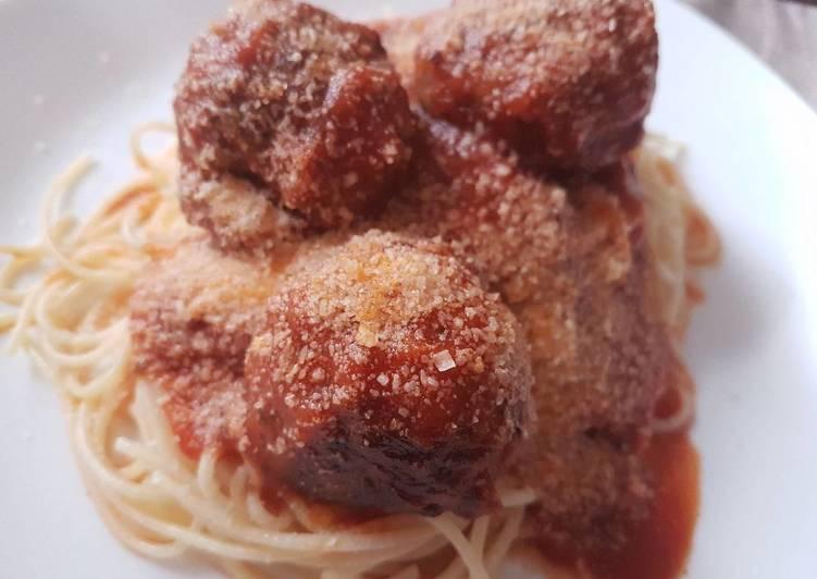 Recipe of Favorite Spaghetti meatballs