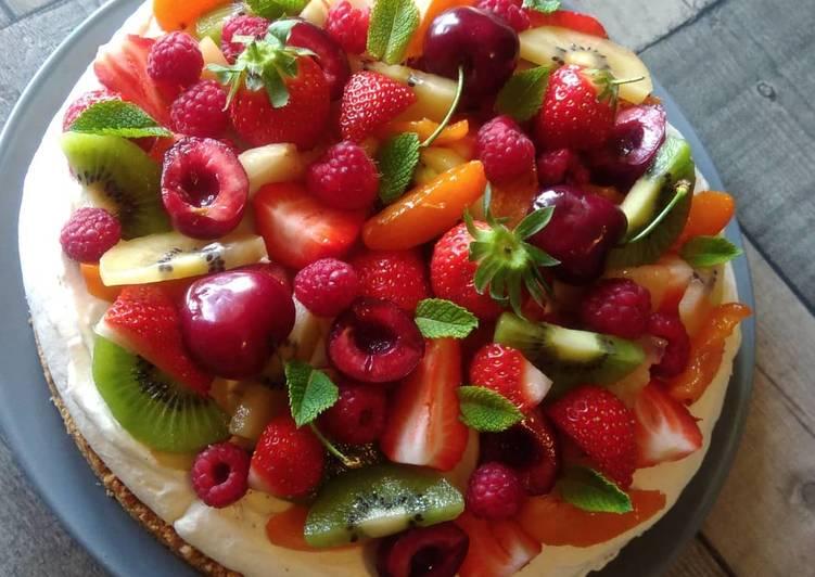 Tarte Tutti frutti..