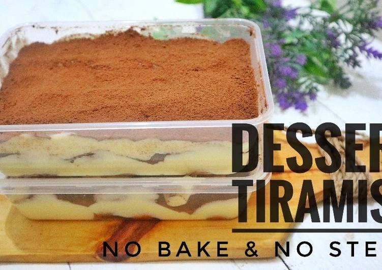 DESSERT TIRAMISU | Resep Cream Cheese Homemade