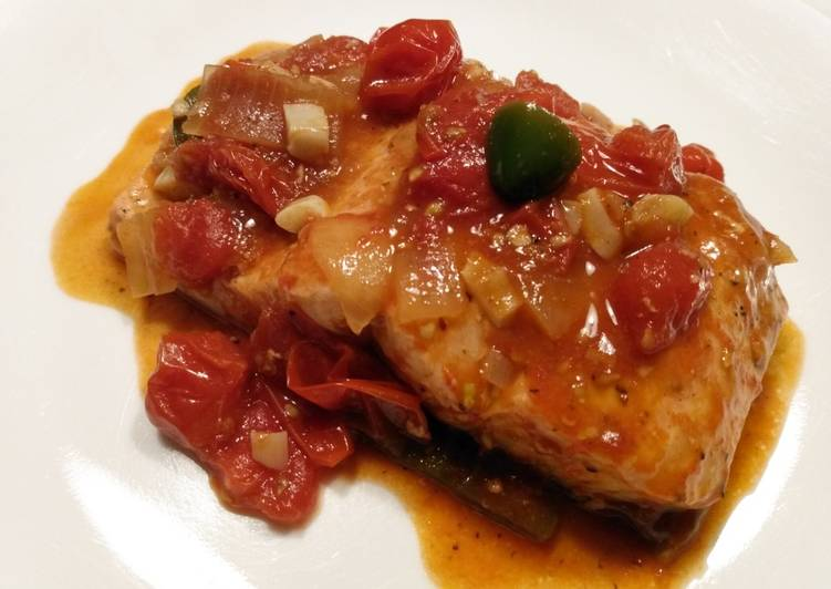 Step-by-Step Guide to Make Award-winning Trout in tomato chutney