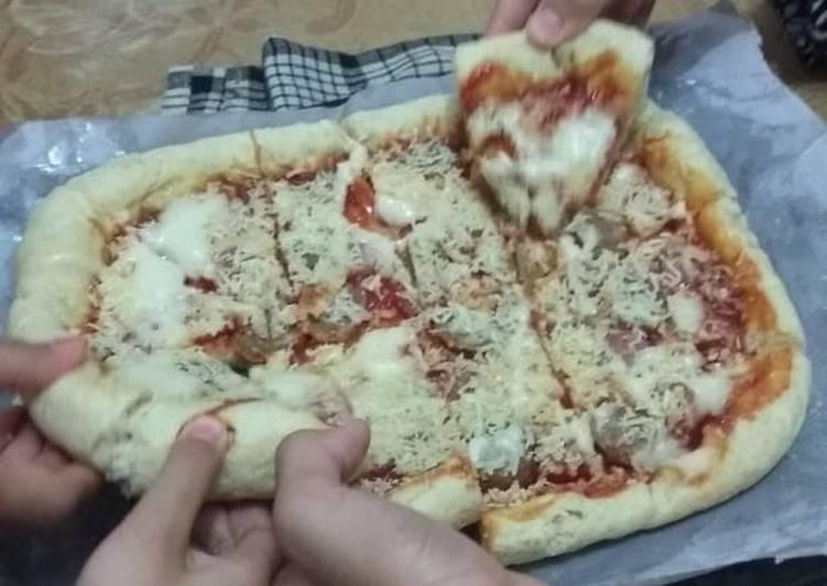 Pizza Teflon Happycall praktis empuk No Telur
