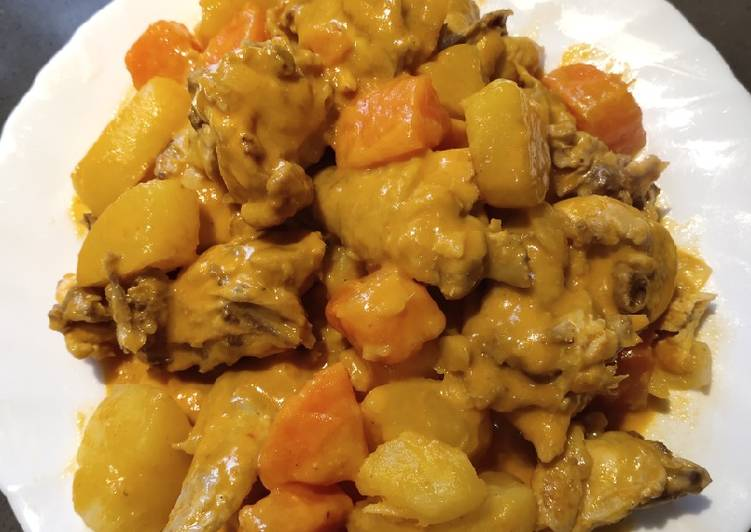 Curry Chicken Choosing Fast Food That's Very good For You