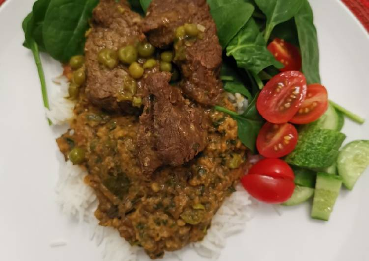 Split Mung beans w braised Beef, Heart Friendly Foods You Must Eat