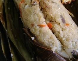 Nasi Bakar Teri KW/ Kembang Kol Bakar DEBM