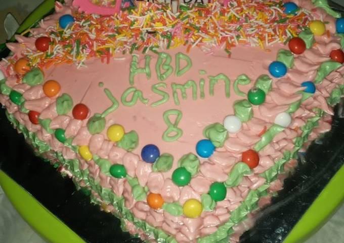 Kue tart praktis dan sederhana ala bunda jeje
