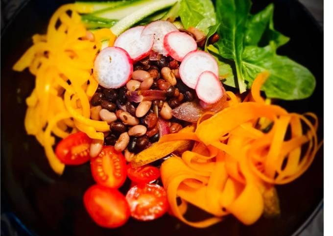 Pantry/Fridge Raid Winter Salad