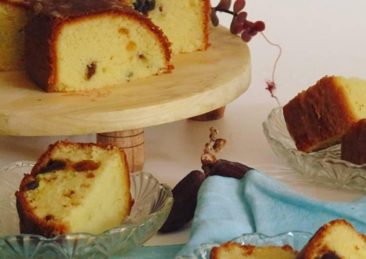 Langkah Mudah untuk Membuat Dates Fruit Butter Cake Fiber Creme yang Sempurna
