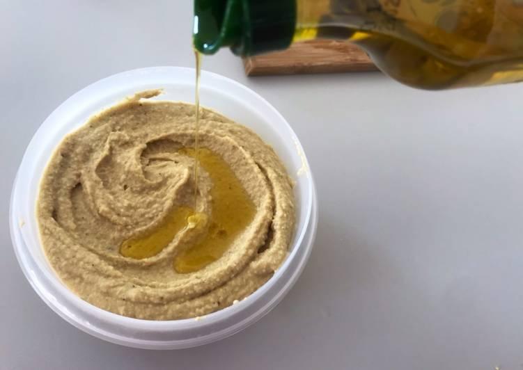Hummus clásico 🍥🥣