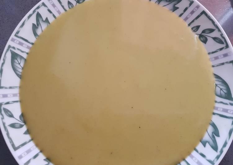 Crema de Brócoli vegetariana Thermomix