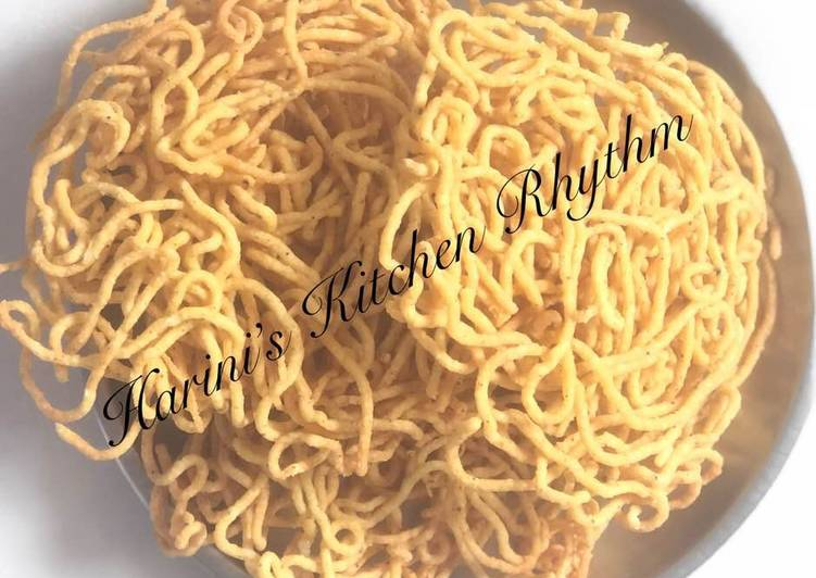 Sev(with cooked left over rice)