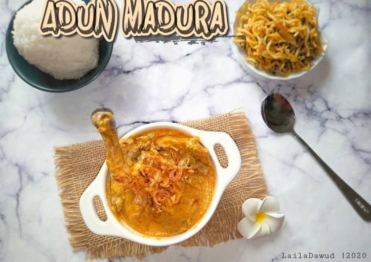 Resep Adun Madura (Kare Madura) Anti Gagal