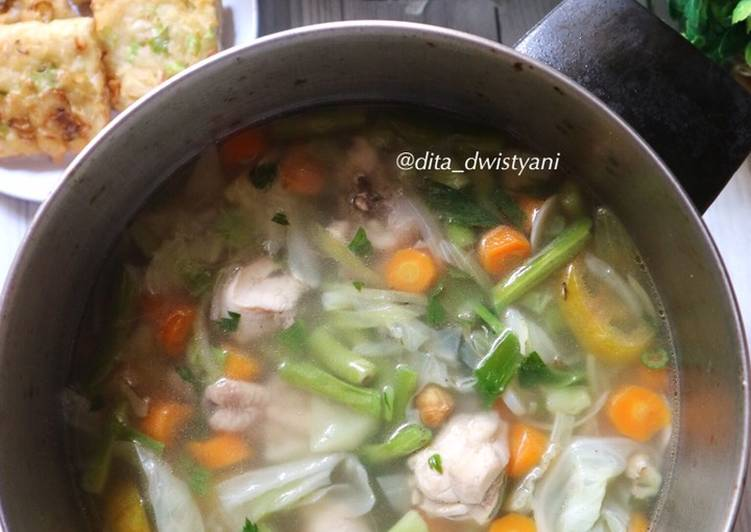 SAYUR SOP AYAM (so simple)