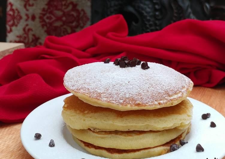 Resep (39) Pancake Lembut Paling Mudah