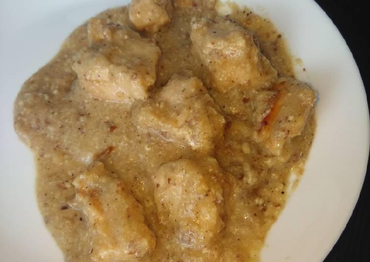 Pechuga De Pollo En Salsa De Almendras Receta De Agudo Molina Cookpad