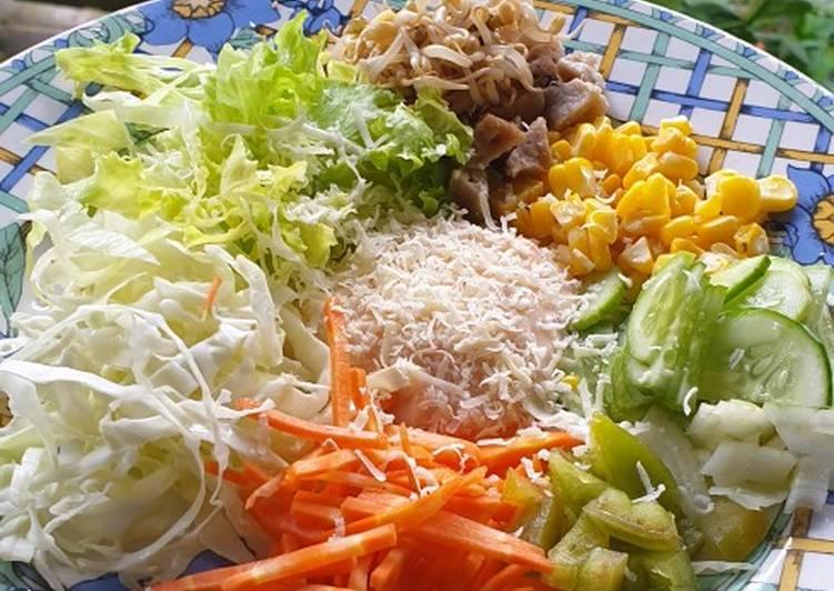 Resep Salad Sayur Vegetable Salad Anti Gagal Resep Masakanku