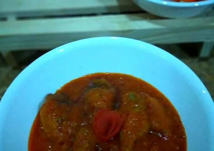 Ayam Masak Merah Istimewa (Juadah Raya)