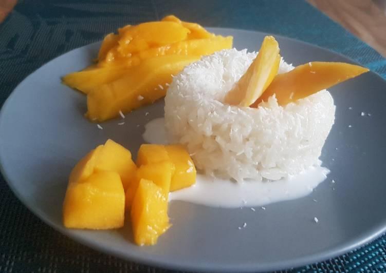 La Meilleur Recette De Mango sticky rice 🇹🇭