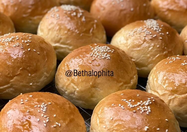 Roti Burger Lembut dan Kokoh/ Burger Bun
