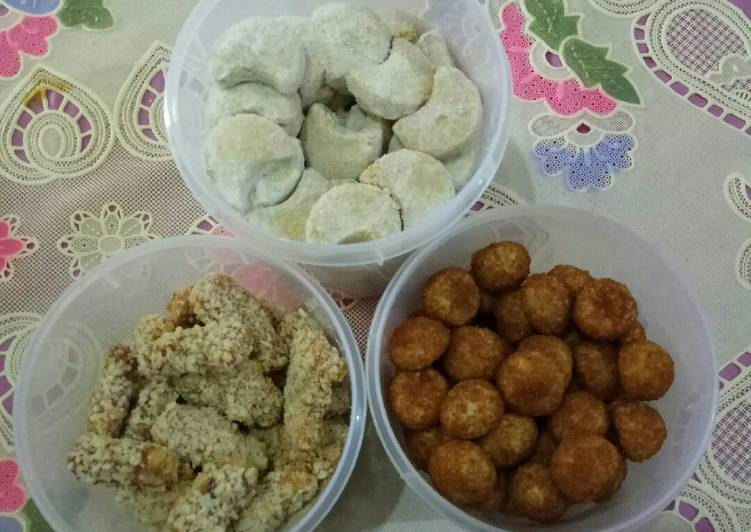 Putri Salju, Palm Sugar Cookies, Kue Kering Kurma (terigu 1 kg)