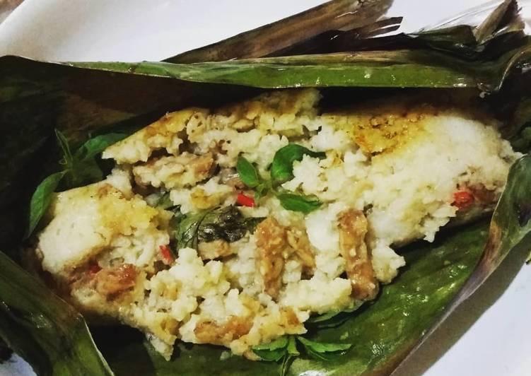 Nasi Bakar Aromatic Teri & Tempe