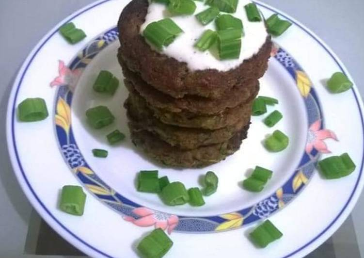 Chickpeas & vegetables Kabab