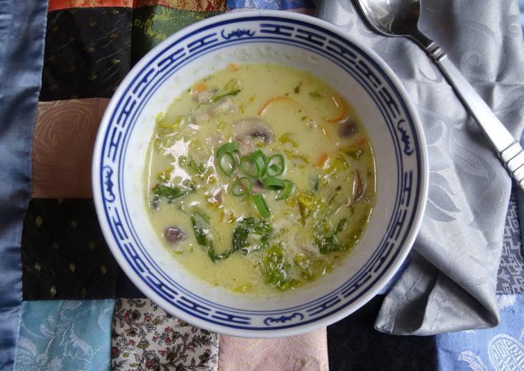 Creamy Thai Veg Soup