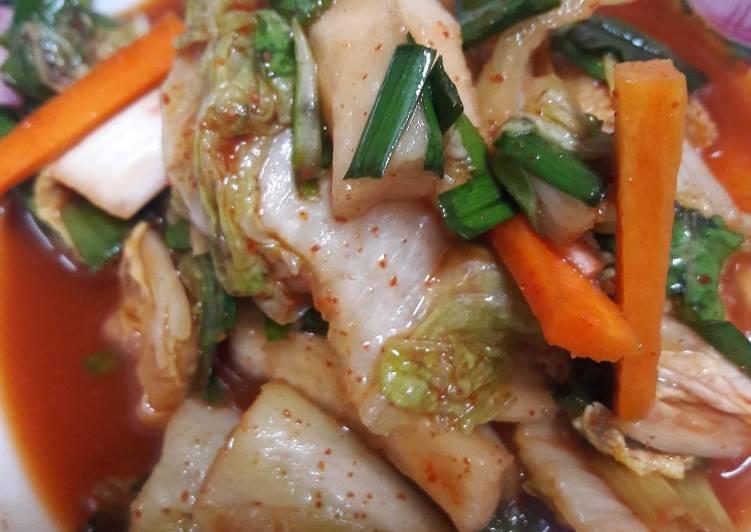 Kimchi Rumahan yang Jadi Favorit