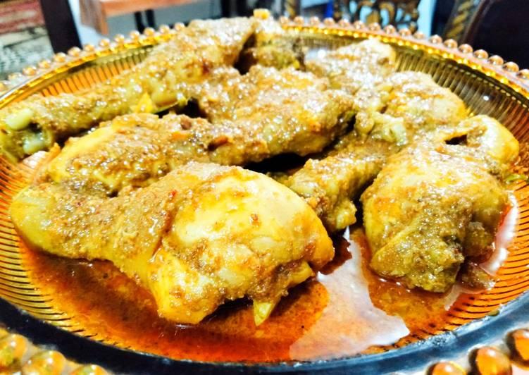 resep cara buat Rendang Ayam