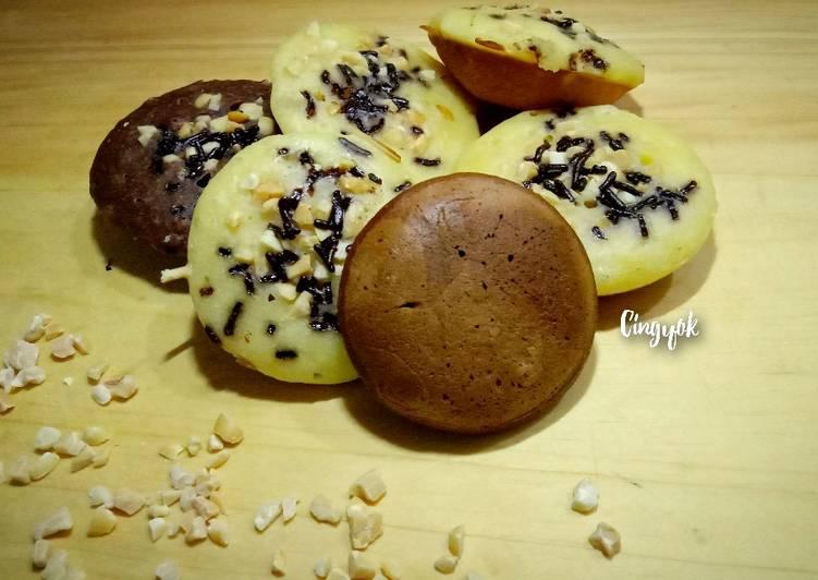 Pukis mini Coklat kacang - cookandrecipe.com
