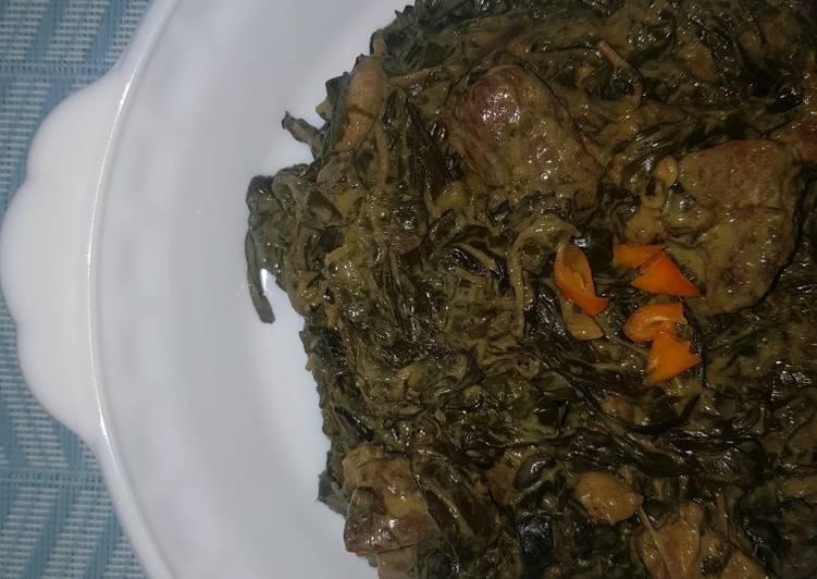 Laing (Taro Leaves in Coconut Milk)