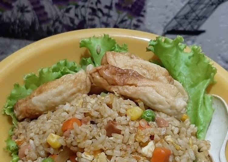 Nasi goreng rendang