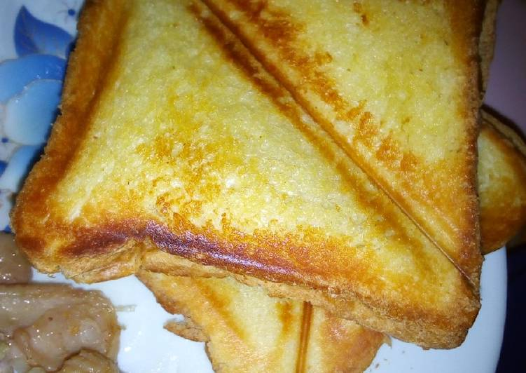 How to Make Appetizing Chicken skin toast #AuthorMarathon