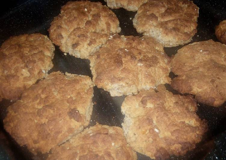 Steps to Make Award-winning Rosemary Chili Oil Wholemeal Cookies