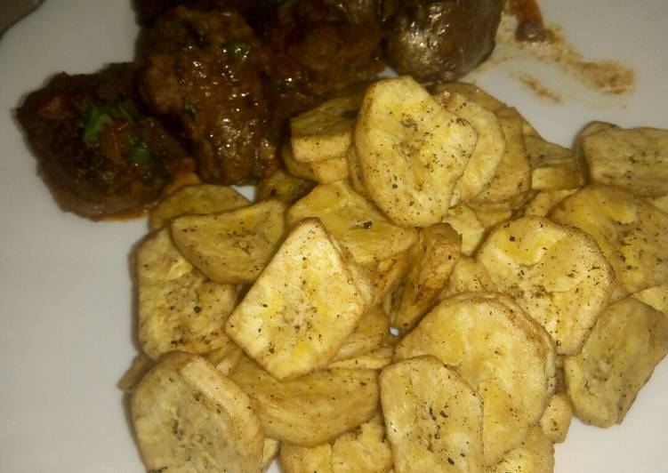 Recipe of Perfect Matoke crisps