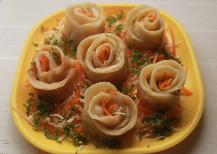 Simple Way to Prepare Super Quick Homemade Steamed Momos- with an Italian twist