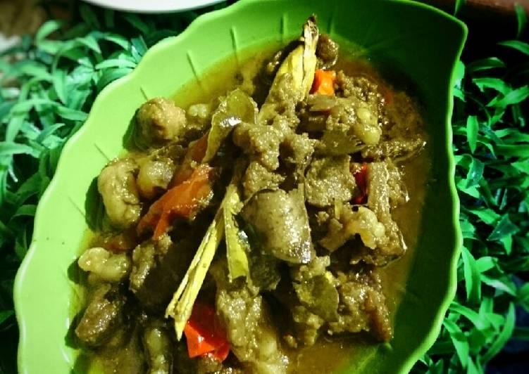 123. Tongseng Kambing (Tanpa Santan) #semarak_meatme