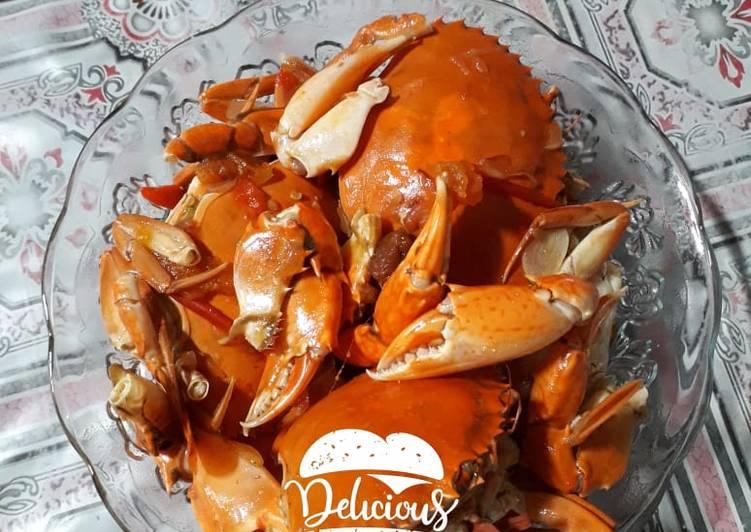 Kepiting Asam Manis - cookandrecipe.com