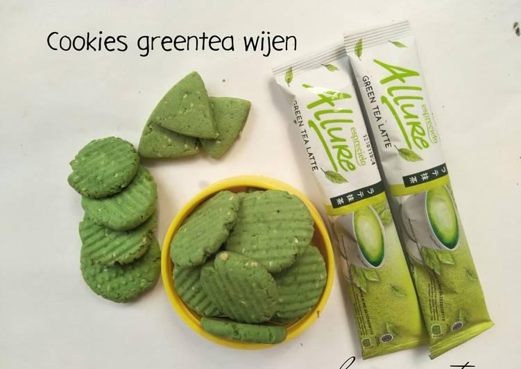 Cookies greentea wijen