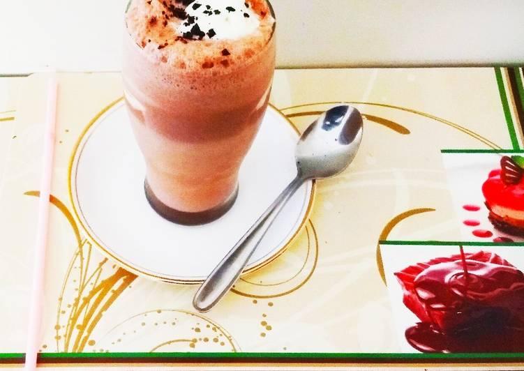 Recipe of Perfect Frozen Hot Chocolate Milkshake