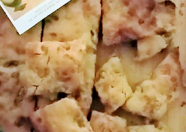 Comment Cuisiner Focaccia au bleu et noix
