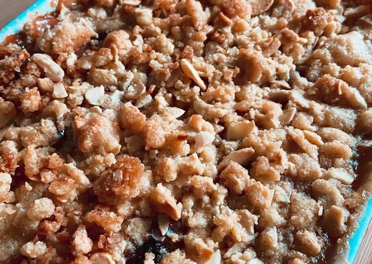 Comment Faire Des Crumble Pomme, Rhubarbe & Framboise
