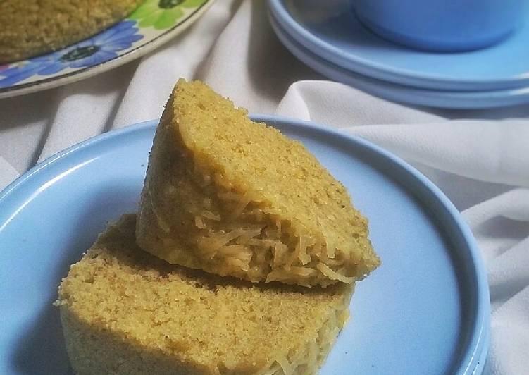 Cake Kukus Kacang Hijau