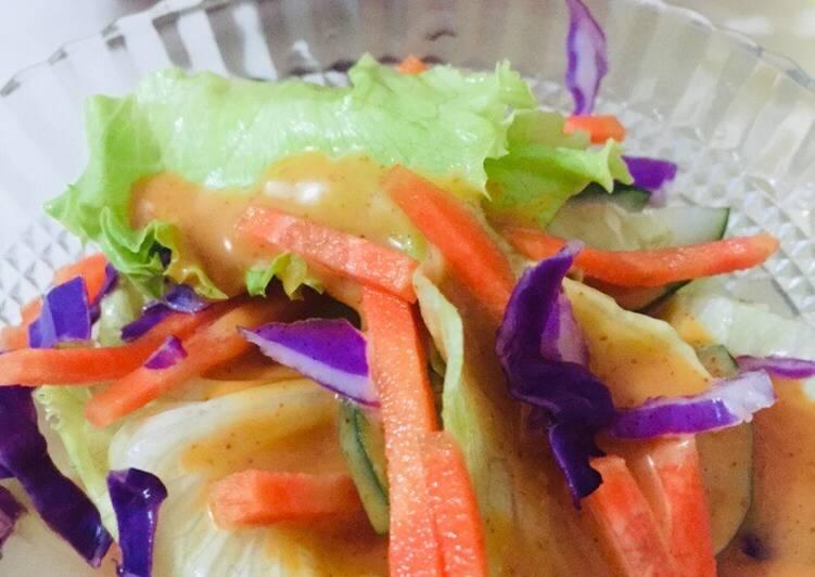 Salad sayur 🥬🥕