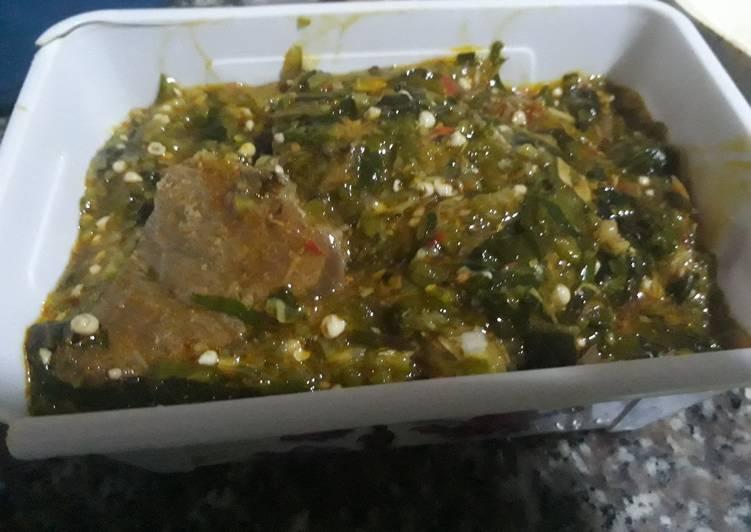 10 Minute How to Prepare Homemade Okro soup