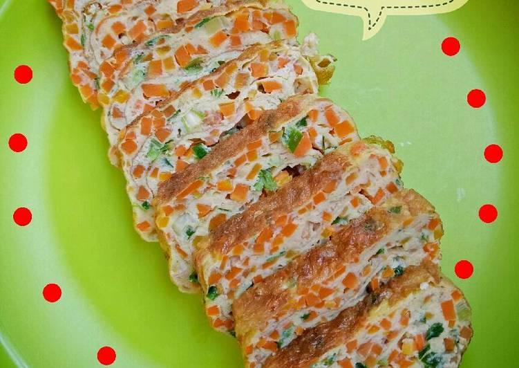 Resep Tamagoyaki a.k.a telur dadar gulung ala2 Paling Joss