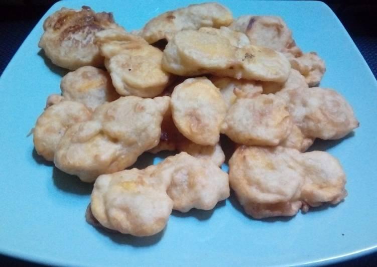 Pisang goreng aroma kue - cookandrecipe.com
