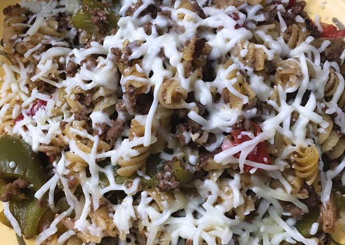 How To Make Instant pot philly cheesesteak pasta Tasty