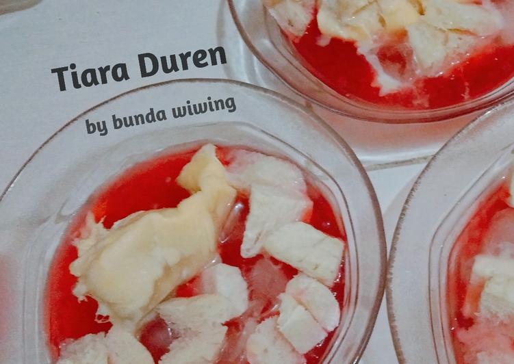 Es Bubur Mutiara Durian
