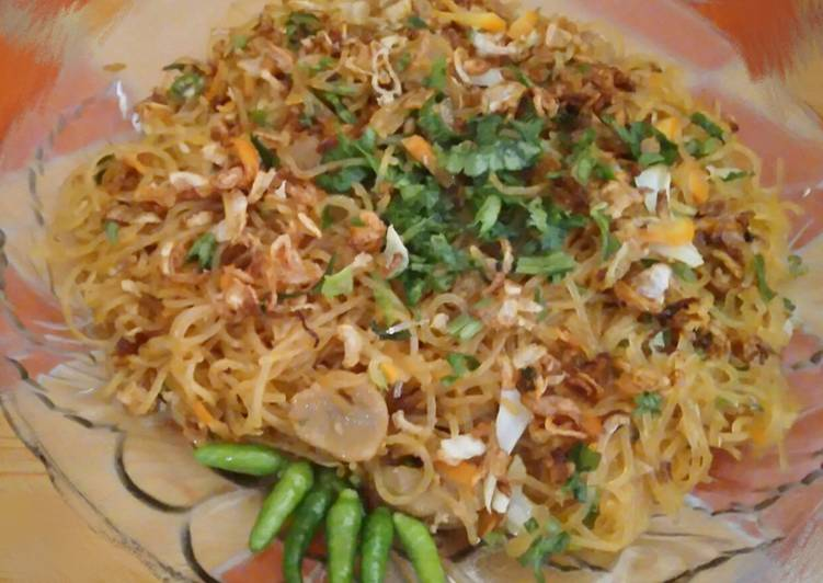 Resep Bihun goreng simple murah enak Paling dicari