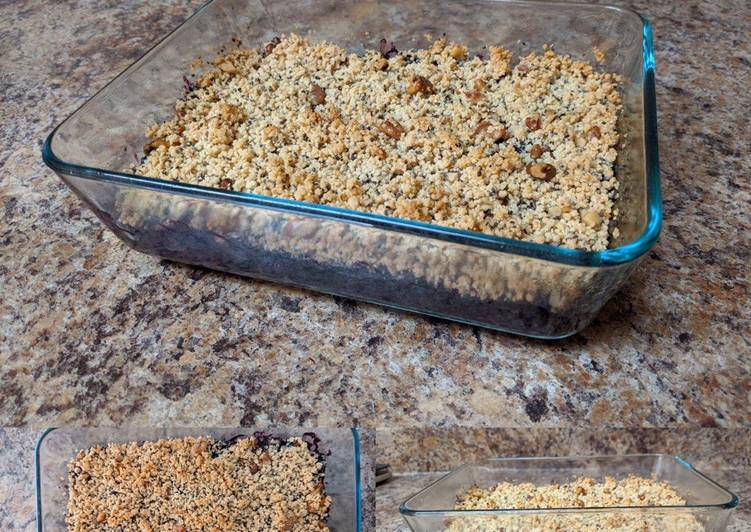 Simple Way to Make Ultimate Blueberry-Chia Breakfast Crisp